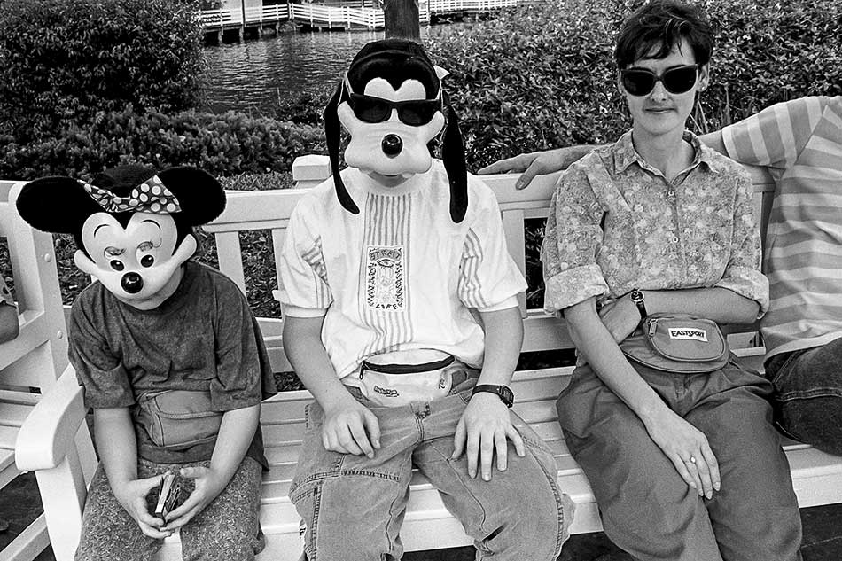 Masks, Disney World by Karen Klugman