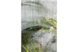 Moisture Painting on Greenhouse Window, Plants and Plastic Series, by Karen Klugman
